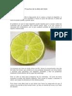 10 Puntos de La Dieta Del Limón