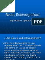 8. Redes Estereograficas