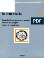 Repensar La Democracia- Revista