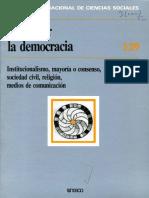 Repensar La Democracia- Revista
