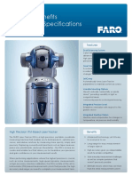 FARO ION Laser Tracker Tech Sheet