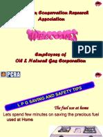 PCRA-8-LPG Saving & Safety Tips(Presentation)