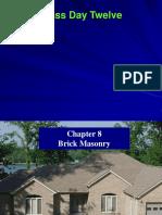 Day12Chap8 Brick Masonry 05