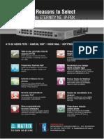 Catalogo 10 Razones Para Comprar Central Matrix