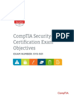 Comptia Security Sy0 501 Exam Objectives