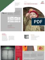 Brochure Firedoors En