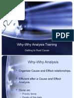 Why-Why Analysis Training