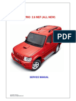 Mahindra Service Manual Scorpio 2.6 NEF (All New)