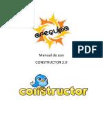 Manual de Uso Constructor