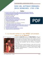 1-Los Borbones y El s. XVIII.