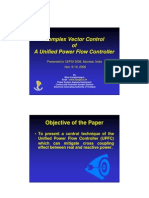 Complex Vector Control of a UPFC for CEPSI 2006 Final