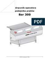 Podajnik Prętów SERVO BAR 300