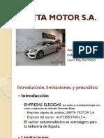 Ppt Ureta Motor Def