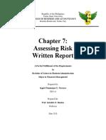 Fme5 Written Report