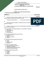 Subiecte Anatomie și Genetică 2018