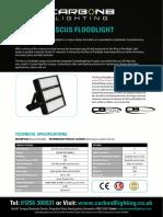 C8 Discus Floodlight Spec Sheet v8