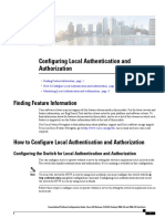 How to Config Local Authentication Authorization