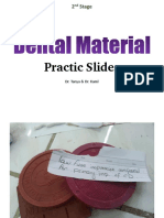 Dental Material Slides