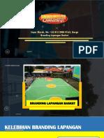 Super Murah, Wa +62 813 2000 8163, Harga Branding Lapangan Basket