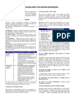 Guidelines for Welding Design