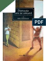 Neil Postman - Distracția Care Ne Omoară