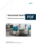 RTSM-AD+lab+sand+mill+user+manual