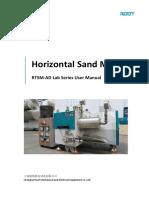 RTSM-AD+lab+sand+mill+user+manual