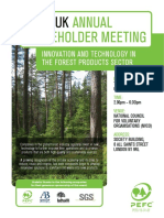 PEFC UK Annual Stakeholder Meeting 2018