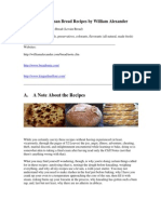 Peasant and Artisan Bread Recipes