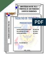 PROYECTO EMBOTELLADORA + resumen caratula