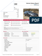 Car Facts Certificate