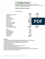 Accounting 11 FS Analysis