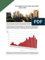 3 Situación de La Oferta Inmobiliaria en Lima y Callao