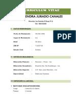 Cv Almendra Jurado