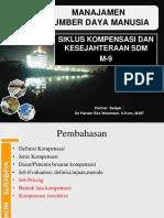07-MSDM-siklus kompensasi dan kesejahteraan SDM-yan.ppt