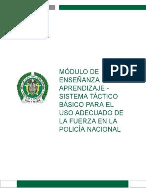 Libro Policia Nacional Uso D Ela Fuerza Y Otros Policía