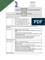 Agenda CEMAC Dialogue 24 April 2008 English