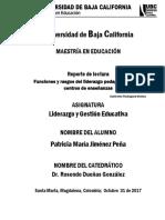 Funciones y rasgos del liderazgo pedagógico en los centros de enseñanza.