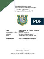 Informe Nº 4 Proctor Estandar
