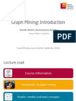 GraphMining 01 Introduction