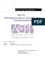 OHC Training Guidelines OHC-01