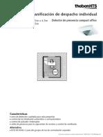 Ejemplo de Planificación Detector de Presencia