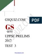 Gsquiz Uppsc Test 3