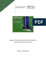 Apostila argamassa - CEPGAG