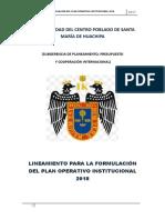 Poi Directiva Huachipa Lima