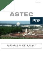 Astec Portable RCC-CTB Plant