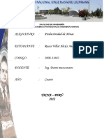 Analsis de Productividad Minera1111