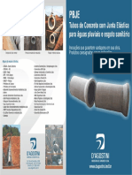 Folder Tubo Borracha