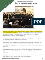 La Asociatividad en La Producción de Papa - Peruinforma