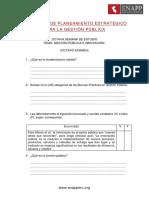 Examen 8 - Planeamiento Estrategico